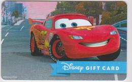GIFT CARD - USA - DISNEY-0474 - CARS - Gift Cards