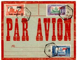 Lettre Par Avion De El Aouina (26.09.1927) Non Voyagée - Tunisie (1888-1955)