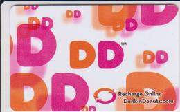 GIFT CARD - USA - DUNKIN DONUTS-015 - Gift Cards