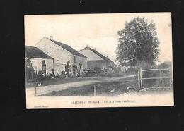 C.P.A . RUE DE LA GARE A CHAUDENAY 52. - Autres Communes