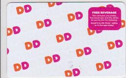 GIFT CARD - USA - DUNKIN DONUTS-115 - Gift Cards