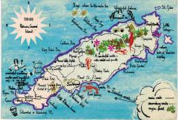 Amérique -  Map Of Tobago - Trinidad