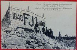 "MONTENEGRO-AUSTRIA, KRIVOSIJE ""ORIJEN"" - JUBILEE Emperor Franc Joseph PICTURE POSTCARD 1909 RARE!!!!!!!!!!! - Montenegro"