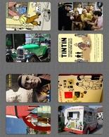 48 DIFF LOT Calendar Cards Group 2015's Tintin Cartoon D - Calendarios