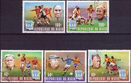 NIGER 1978 - COPPA DEL MONDO DI CALCIO IN ARGENTINA - SERIE COMPLETA NUOVA CTO - Niger (1960-...)