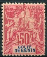 Benin (1893) N 30 * (charniere) - Unused Stamps