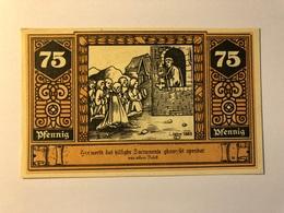 Allemagne Notgeld Wilsnack 75 Pfennig - Collections