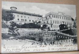 VALPERGA , IL CASTELLO  - 1904 VIAGGIATA - Altre Città