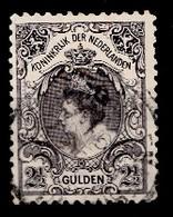 Pays-Bas 1896  Mi.nr. 64 Königin Wilhelmina  Oblitérés / Used / Gestempeld - Gebraucht
