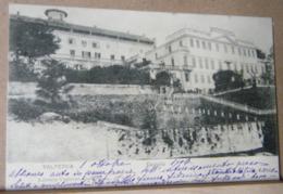 VALPERGA , IL CASTELLO  - 1906 VIAGGIATA - Altre Città