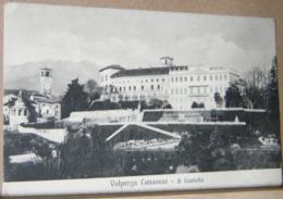 VALPERGA , IL CASTELLO  - 1908 VIAGGIATA - Altre Città