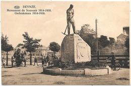 Deynze NA3: Monument Du Souvenir 1914-1918 - Deinze