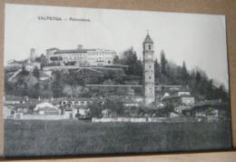 VALPERGA , PANORAMA  - 1908 VIAGGIATA - Altre Città