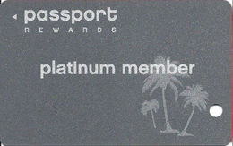 Crystal Palace Casino - Bahamas - BLANK Platinum Member Slot Card - Casino Cards