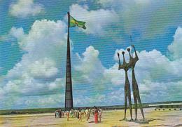 Brasilia - Monumento Do Candango - Circulé Sans Date, Sous Enveloppe - Brasilia