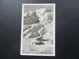 Echtfoto AK 1938 Österreich Gasthof Hospiz St. Christoph A. D. Arlberg. Pacht Direktion Othmar.  Zeiss Objektiv - Hotels & Gaststätten