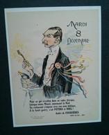 André De Fouquières Par Georges Villa. Pour Un Gai Réveillon Dans Un Cadre Féérique - Calendars