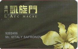 L'Arc Macau Casino - Slot Card - Casino Cards