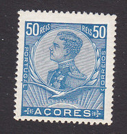 Azores, Scott #118, Mint Hinged, King Manuel II, Issued 1910 - Azoren