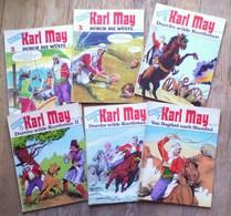 KARL MAY Un Lot De 6 Livres / N° 2, 3, 4, 5, 6, 7 - Livres, BD, Revues