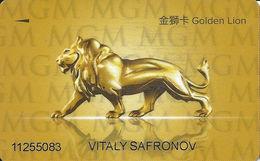 MGM Casino Macau - Slot Card - Casino Cards