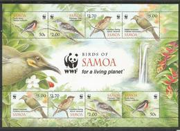 SAMOA - MNH - Animals - Birds - WWF - Uccelli