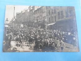 Carte Postale Photo , Fête Des Conscrits, Villefranche Sur Saone - Personnages