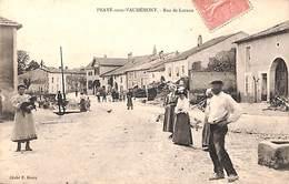 54 - Praye-sous-Vaudémont - Rue De Lavaux (top Animation, Cliché E. Henry, 1905) - Otros Municipios