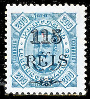 !■■■■■ds■■ L.Marques 1902 AF#57* Surcharges 115/200 11,5 (x2440) - Lourenco Marques