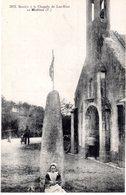 Cpa 29 -MOELAN - Menhir à La Chapelle De Lau-Riot, Animée, Jeune Femme Et Son Chien - Moëlan-sur-Mer
