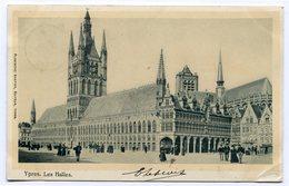 CPA - Carte Postale - Belgique - Ypres - Les Halles - 1903 (CP3684) - Ieper