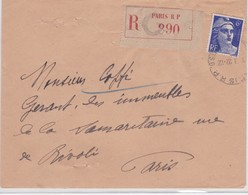 LSC - REC. N°720a (mèches Rekiées) - Marcophilie (Lettres)