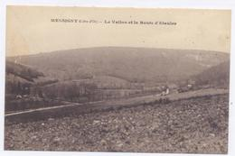 MESSIGNY - Le Vallon Et La Route D'Etaules - 1922 - 2 Scans Bon état - Autres Communes