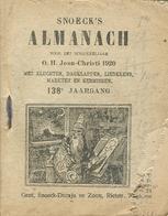 Snoeck's Almanach 1920 (9x11cm) 138e Jaargang (Gent Snoeck Dueaju En Zoon Rietstraat) - Antique