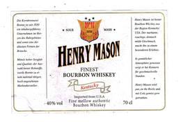 Henry Mason Kentucky - Whisky