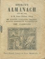 Snoeck's Almanach 1922 (9x11cm) 140e Jaargang (Gent Snoeck Dueaju En Zoon Rietstraat) - Antique