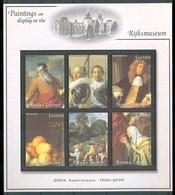 2001 Sierra Leone Rijksmuseum Museum Quadri Paintings MNH** Tra39 - Sierra Leone (1961-...)