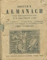 Snoeck's Almanach 1924 (9x11cm) 142e Jaargang (Gent Snoeck Dueaju En Zoon Rietstraat) - Antique