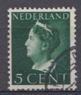 Pays-Bas 1940  Mi.nr. 341 Königin Wilhelmina  Oblitérés / Used / Gestempeld - Gebraucht
