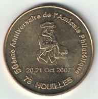 Monnaie De Paris 78.Houilles - Amicale Philathélique 50 Ans 2007 - Monnaie De Paris