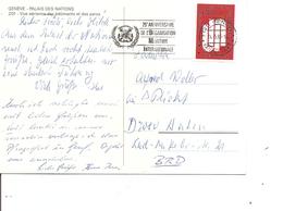 NationsUnies -Genève ( CP De 1985 De Genève Vers L'Allemagne à Voir) - Covers & Documents