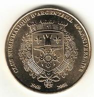 Monnaie De Paris 95.Argenteuil - 40 Ans Club Numismatique D'Argenteuil 2008 - 2008