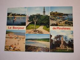 Refboite202 *un Bonjour De Plouhinec Défaut Coupée En Haut  ( Editions Editeur Jean Audierne N° 23 485   ) - Plouhinec