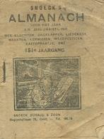 Snoeck's Almanach 1933 (9x11cm) 151e Jaargang (Gent Snoeck Dueaju En Zoon  Begijnhoflaan) Met Bijvoegsel - Antique