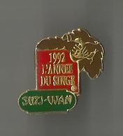Pin's Suzi-Wan L'année Du Singe - Food