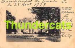 CPA  WILGENDAEL SCHOOTEN  SCHOTEN KASTEEL CHATEAU - Schoten