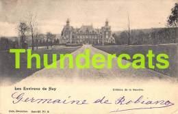 CPA  LES ENVIRONS DE HUY CHATEAU DE L ANEUVILLE NELS SERIE 55 NO 8 - Hoei