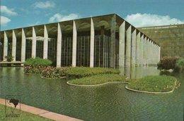 CARTE POSTALE DU BRESIL - BRASILIA - ITAMARATI  PALACE - Brasilia