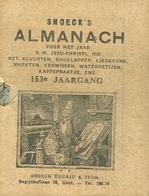 Snoeck's Almanach 1935 (9x11cm) 153e Jaargang (Gent Snoeck Dueaju En Zoon Begijnhoflaan) - Antique