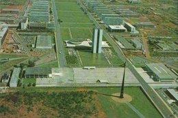 CARTE POSTALE DU BRESIL - BRASILIA - VUE AERIENNE - SQUARE TRES PODERES - Brasilia